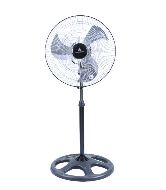 Electric Fan On A Stand : Industrial stand fan hisf hanabishi