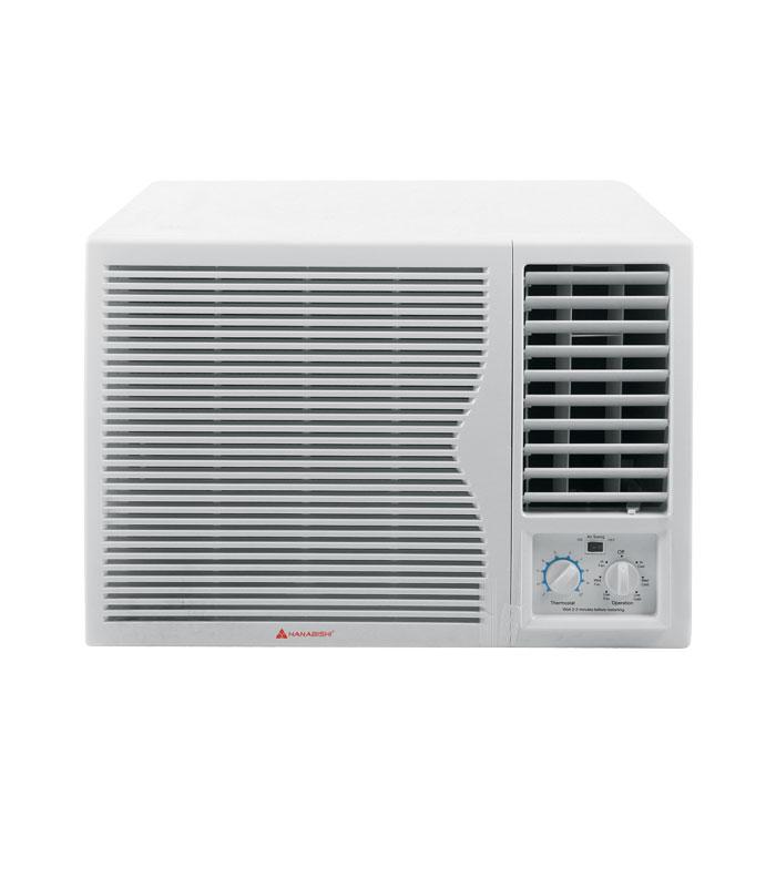 Window type air conditioner hwtac 20s hanabishi for 20 inch window air conditioner