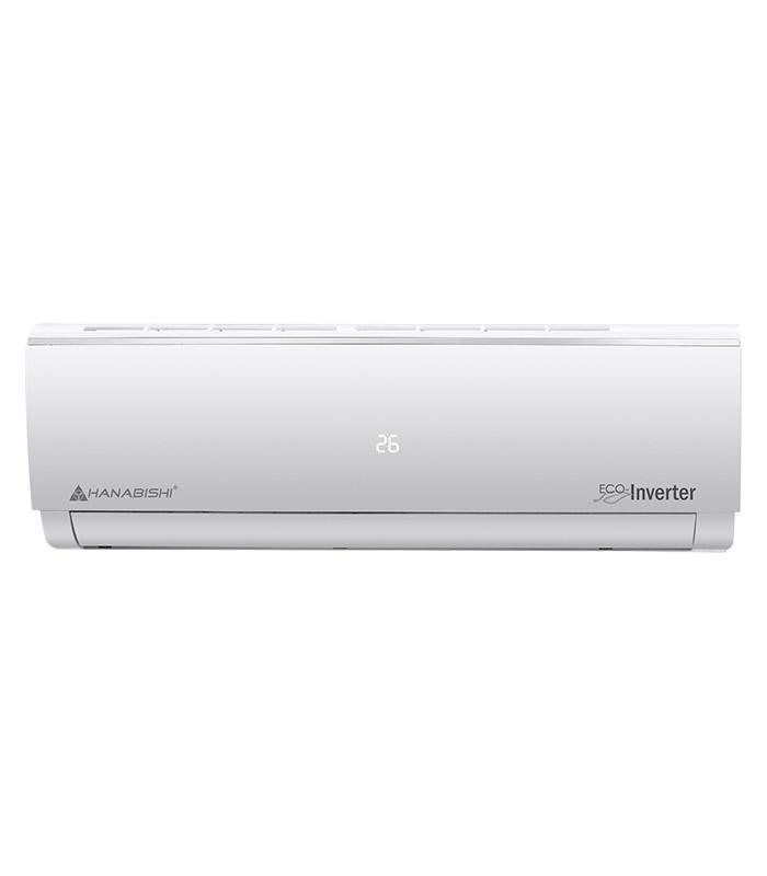 Inverter split type air conditioner hstinv 20hp hanabishi for Split type ac