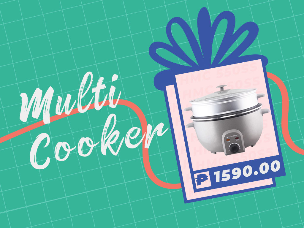 Graphic of a multi cooker