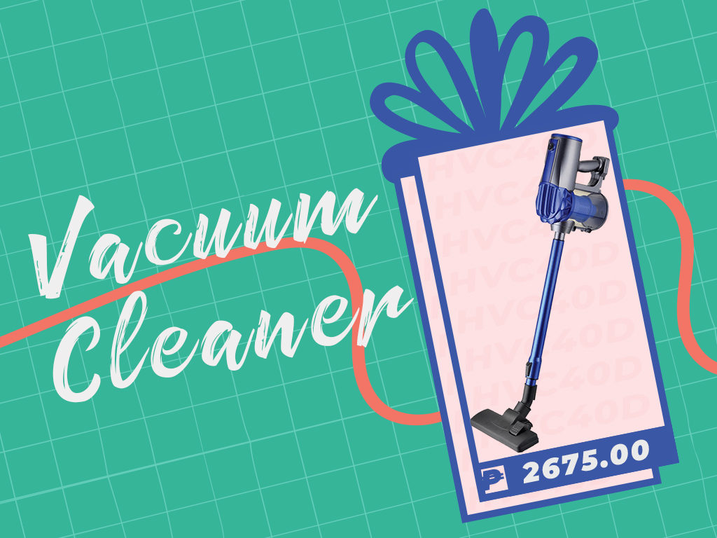 Graphic of a vacuum cleaner