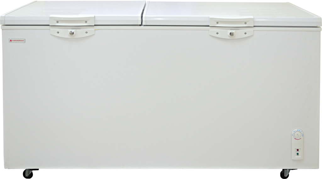 A chest freezer from Hanabishi